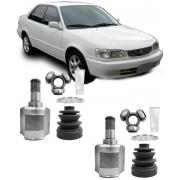 Par de Tulipa Trizeta e Coifa Corolla 1.6 16V e 1.8 16V Câmbio Automatico de 1992 À 2002 - 23x29