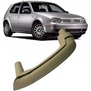 Puxador Porta Traseira Esquerda Bege Caramelo do Golf Bora de 1999 À 2013