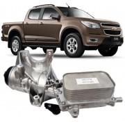 Resfriador Com Suporte de Oleo Motor S10 2.8 16V Diesel Após 2012 - 55488257