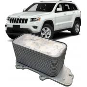 Resfriador Trocador De Calor Motor Jeep Cherokee 3.0 V6 24v Turbo Diesel De 2012 À 2018