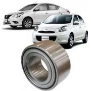 Rolamento de Roda Dianteira Nissan March E Versa Com Abs