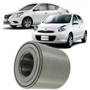 Rolamento de Roda Traseira Nissan March Versa Livina 1.0 1.6 e 1.8 16v