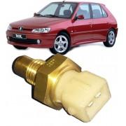 Sensor de Temperatura Peugeot e Citroen Varios 1.6 8V / 1.8 8V / 1.8 16V / 2.0 16V  ate 2000