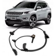 Sensor Freio ABS Jeep Compass 2.0 16V 4x2 de 2011 a 2018 Dianteiro Direito