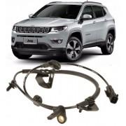 Sensor Freio ABS Jeep Compass 2.0 16V 4x2 de 2011 a 2018 Dianteiro Esquerdo