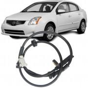 Sensor Freio ABS Nissan Sentra 2.0 16V 2007 a 2012 Dianteiro Esquerdo