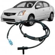 Sensor Freio ABS Nissan Sentra 2.0 16V 2007 a 2012 Traseiro Esquerdo