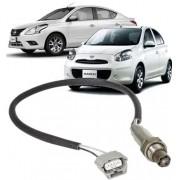 Sonda Lambda Nissan March Versa 1.6 16V Flex Pré Catalizador de 2011 à 2017