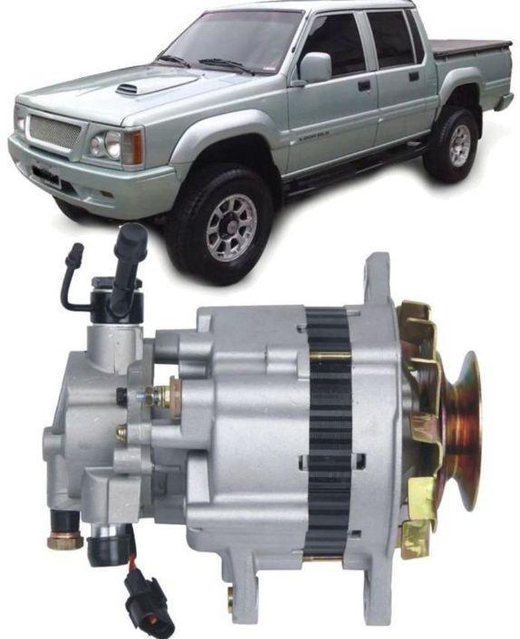 Alternador L200 E H100 Com Bomba e Vacuo e Polia Simples
