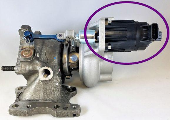 Atuador Eletronico do Turbina Civic G10 1.5 16V Turbo de 2017 À 2022 - K6t52372