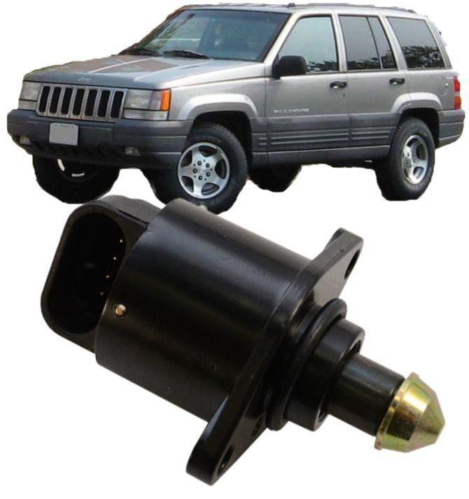 Atuador Marcha Lenta Jeep Grand Cherokee 5.2 e 5.9 V8 de 1993 A 1998 - 53030657