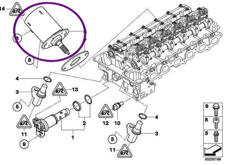 Atuador Solenoide Valvetronic Bmw 128i 330i 325i X1 X3 X5 3.0 6cc N52
