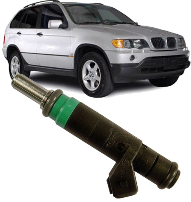 Bico Injetor de Gasolina Bmw X5 4.4i e 4.8i de 2003 à 2009 - 7525721
