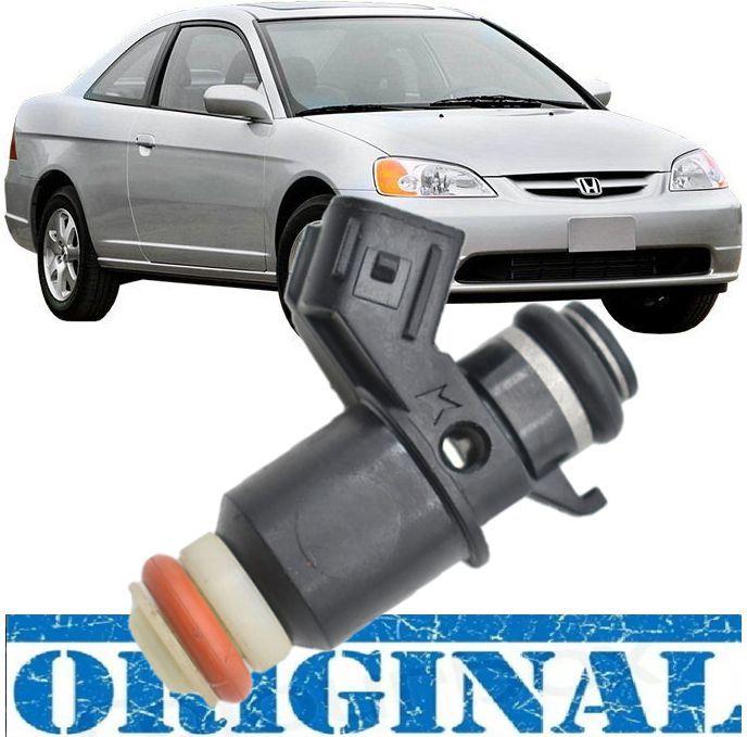Bico injetor Honda Civic 1.7 16v de 2001 ate 2005 Codigo: 16450-PLD-003