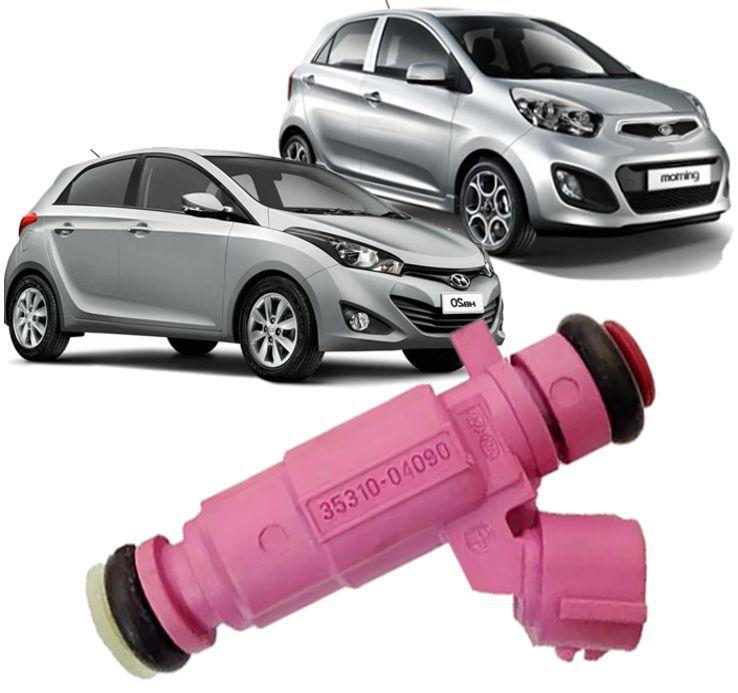 Bico Injetor Hyundai Hb20 E Picanto 1.0 12v 3cc 35310-04090