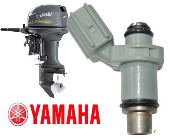 Bico Injetor Motor de Popa Yamaha F30 E F40 de 30 e 40  HP 4 tempos Apos 2005