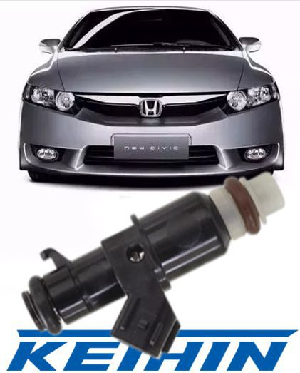 Bico Injetor New Civic 1.8 16v Flex de 2006 a 2011 Original - 8 Furos