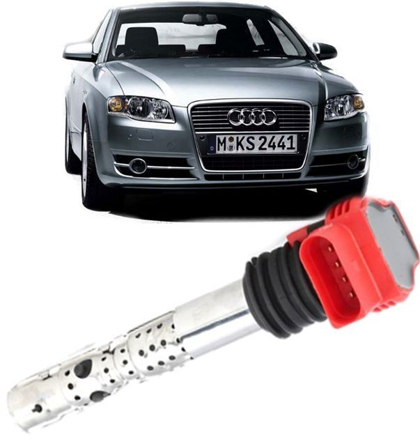 Bobina de Ignicao Audi A4 e A6 1.8T 2.0T 3.0 V6 2002 Ate 2008 - 06c905115