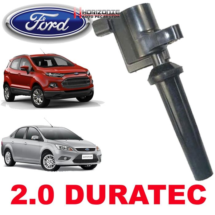 Bobina de Ignicao Ford Focus e Ecosport Motor 2.0 Duratec apos 2009