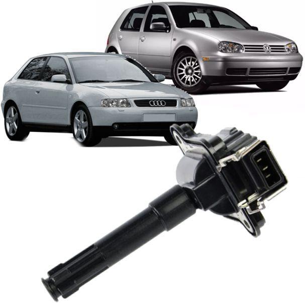 Bobina de Ignicao Golf Gti 1.8 Turbo Audi A3 e A4 1.8 Turbo 150cv 058905105