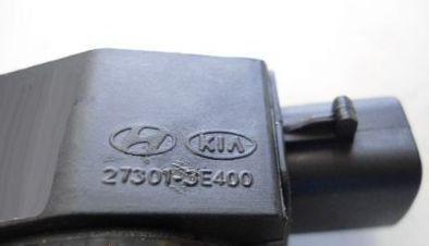 Bobina de Ignicao Hyundai Santa Fe 2.7 2007... Kia Carnival 27301-3e400 Original Nova