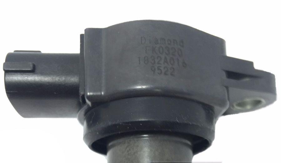 Bobina de Ignicao Lancer Asx Outlander 2.0 2.4 e 3.0 V6 - Fk0320 E 1832a016