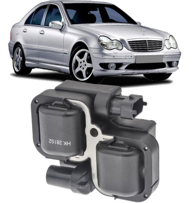 Bobina de Ignicao Mercedes Benz B200 C280 C320 Clk320 E320 Ml320