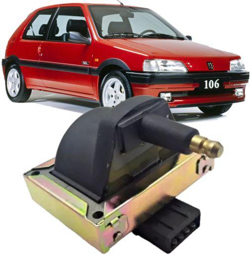 Bobina de Ignicao Peugeot 106 91 a 96 Citroen ZX ate 96 -0986221029