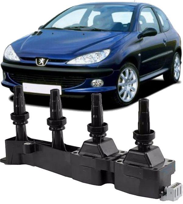Bobina de Ignicao Peugeot 206 1.6 16v Flex 9636337880