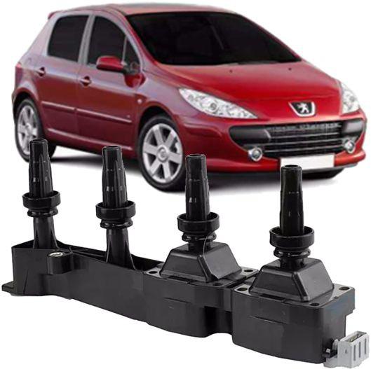 Bobina de Ignicao Peugeot 307 1.6 16v Flex e Gasolina  9636337880