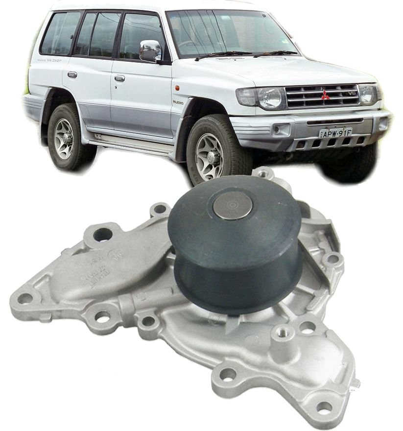 Bomba DAgua Mitsubishi Pajero 3.0 e 3.5 V6 de 1995 a 2000