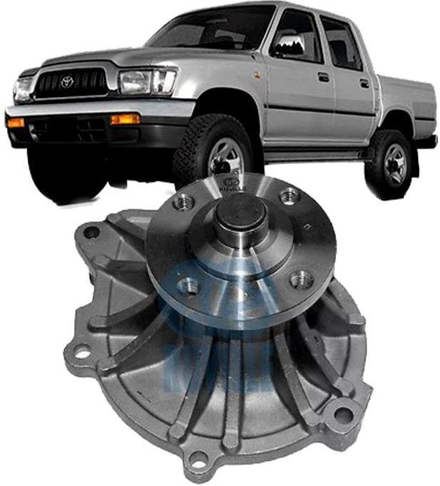 Bomba DAgua Toyota Hilux e Sw4 3.0 Turbo Diesel de 1996 a 2004