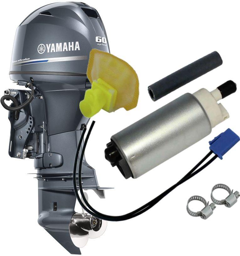 Bomba de Combustivel Gasolina Motor De Popa Yamaha 60 / 90 Hp 4 Tempos