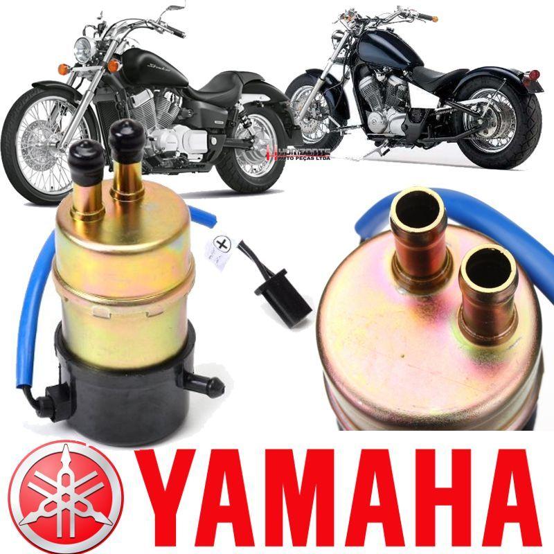 Bomba de Combustivel Gasolina Yamaha Drag Star 650 Xvs de 1999 a 2008