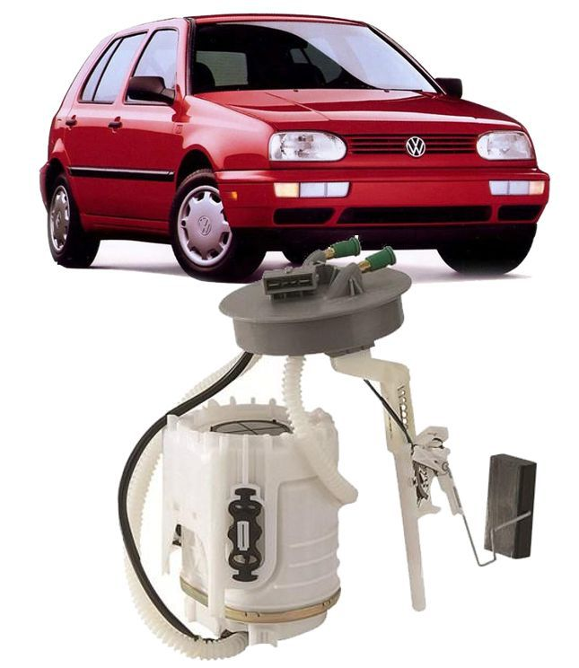 Bomba de Combustivel Golf 1.8 e 2.0 Mexicano / Alemao Todos 1994 A 1998