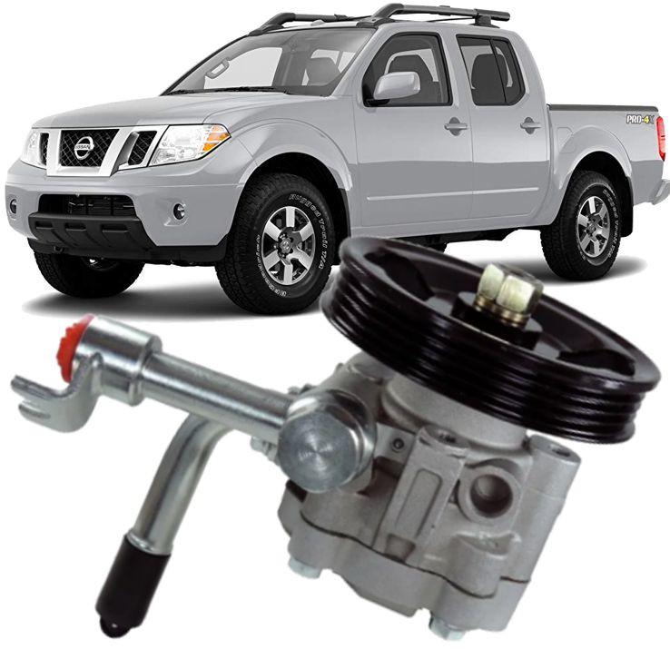 Bomba de Direcao Hidraulica Nissan Frontier 2.5 Turbo Diesel de 2007 à 2016