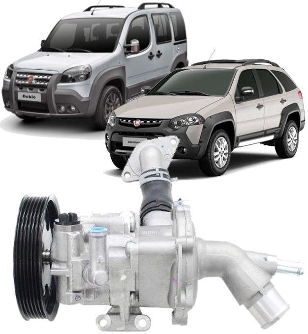 Bomba de Direção Hidraulica Palio Idea Doblo de 2011 À 2017 E-torq