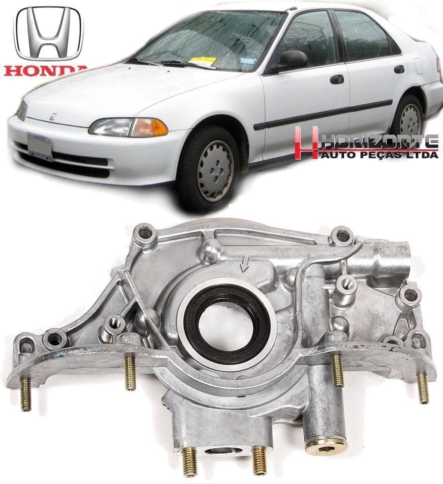 Bomba De Oleo Honda Civic 1.5 e 1.6 16v de 1991 a 1995