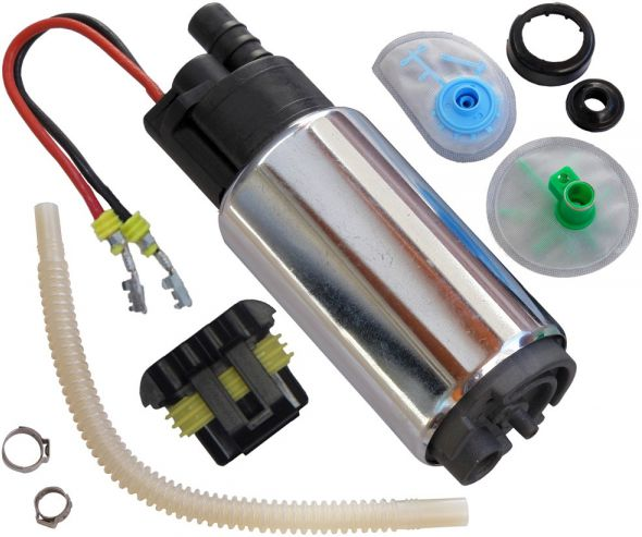 Bomba Eletrica de Combustivel Flex a Alcool ou Gasolina