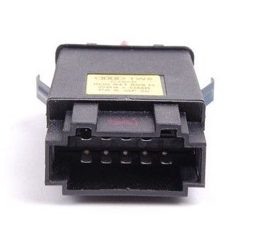 Botao Interruptor Comando Pisca Alerta Audi A3 1998 ate  2006 - 9 Pinos 8D0941509H