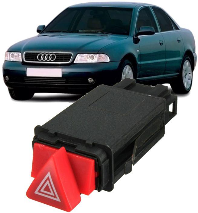 Botao Interruptor Comando Pisca Alerta Audi A4 E A6 De 1996 À 2001 - 8d0941509h
