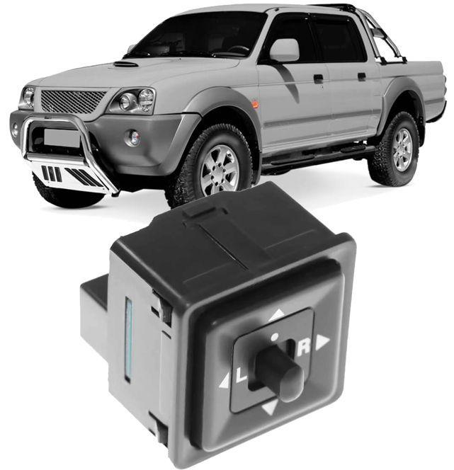 Botao Interruptor Controle Espelho Retrovisor Mitsubishi Pajero Sport e L200 Codigo: MB561810