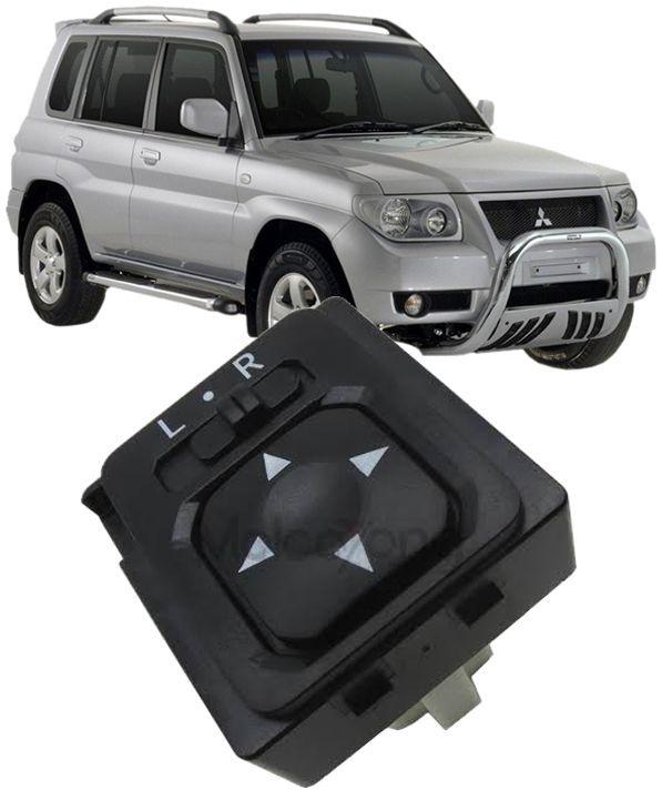 Botao Interruptor Controle Espelho Retrovisor Mitsubishi Pajero Tr4 Lancer e Outlander Codigo: MR417977