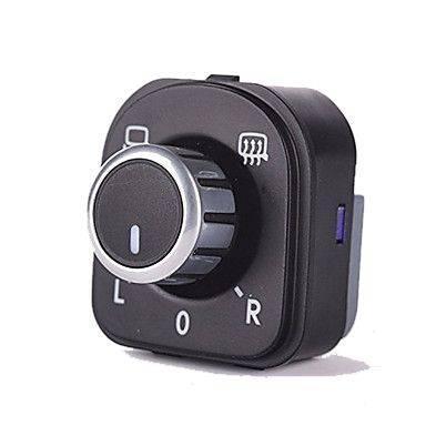 Botao Interruptor Retrovisor Cromado Jetta Golf Passat / CC Tiguan 5ND959565A
