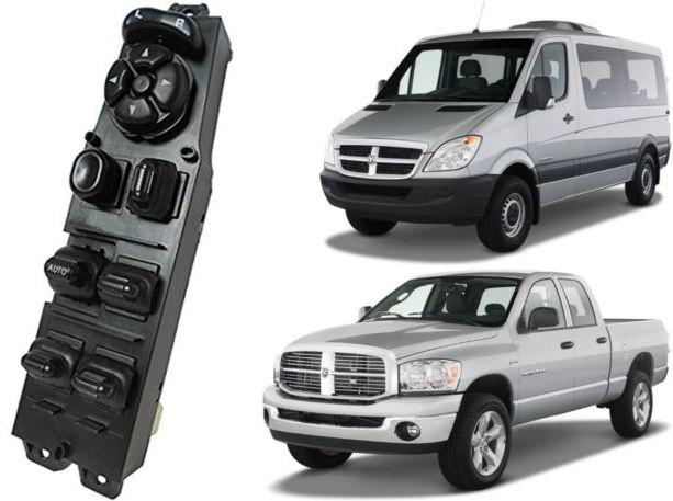 Botao Interruptor Vidro Eletrico Dodge Ram 1500 2500 e 3500 de 2003 a 2009