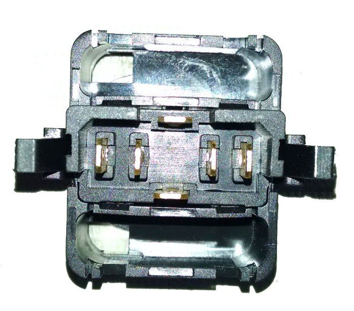 Botao Interruptor Vidro Eletrico Golf de 1993 a 1998 Simples
