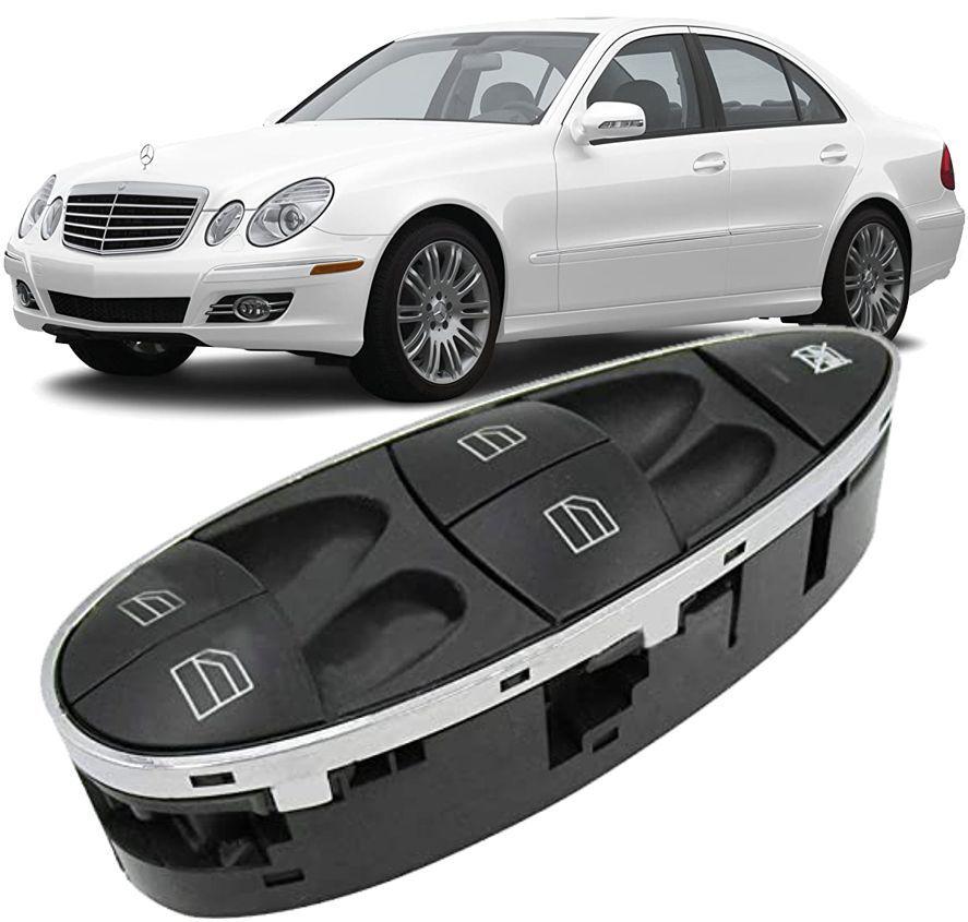 Botao Interruptor Vidro Eletrico Mercedes Benz CLS500 E320 E550 CLS63 de 2004 A 2011