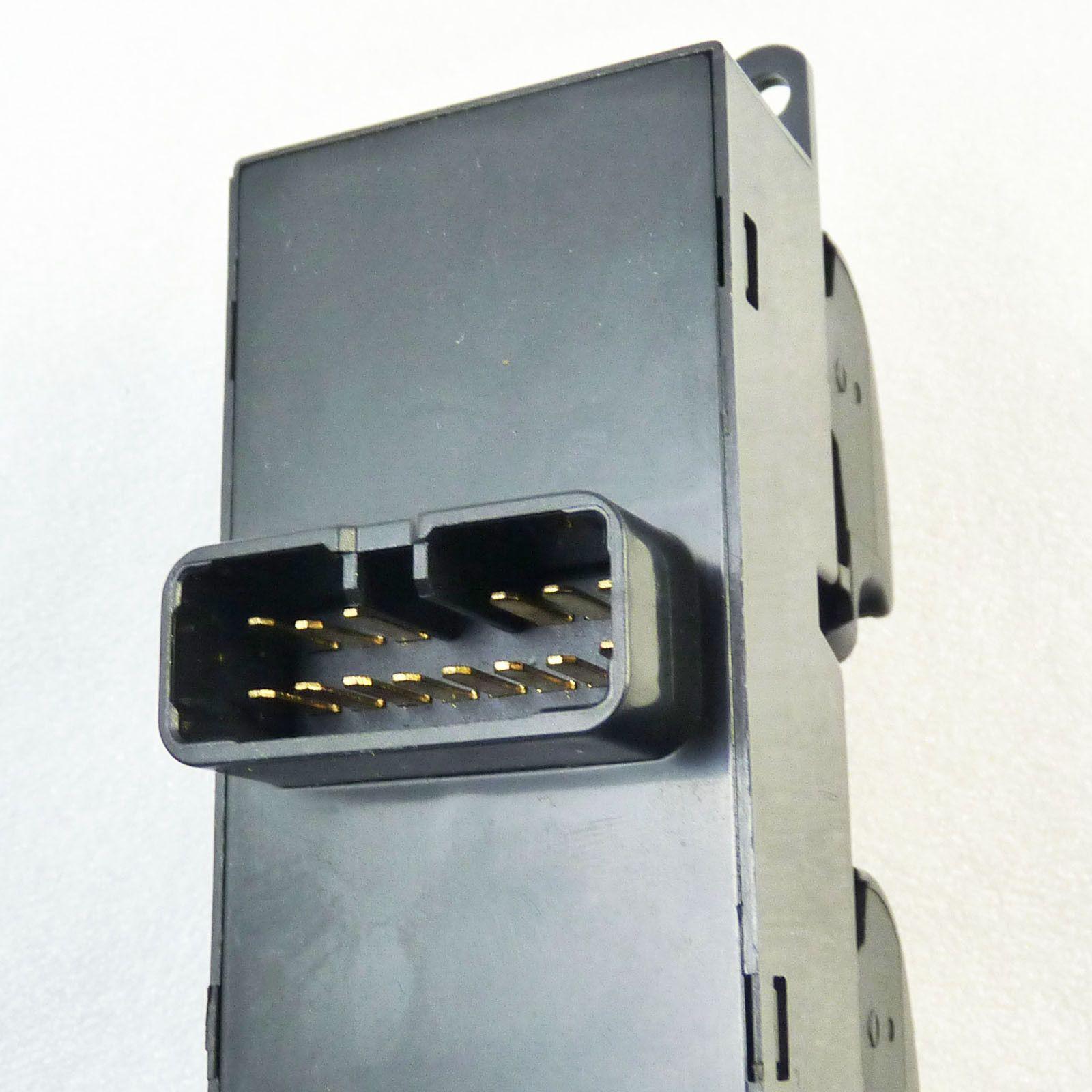 Botao Interruptor Vidro Eletrico Mitsubishi Outlander de 2007 a 2012 - 8608a185