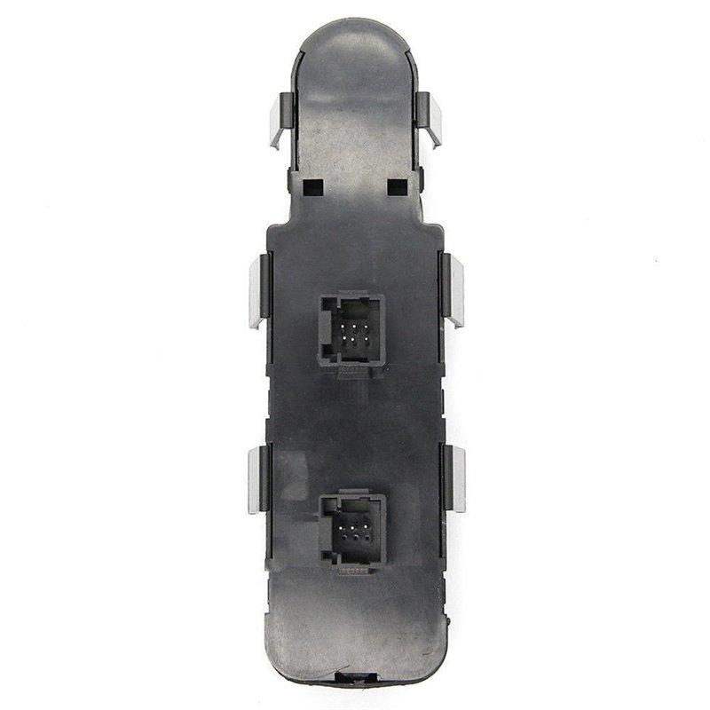 Botao Interruptor Vidro Eletrico Peugeot 307 C4 Pallas Apos 2006 Com Rebatimento