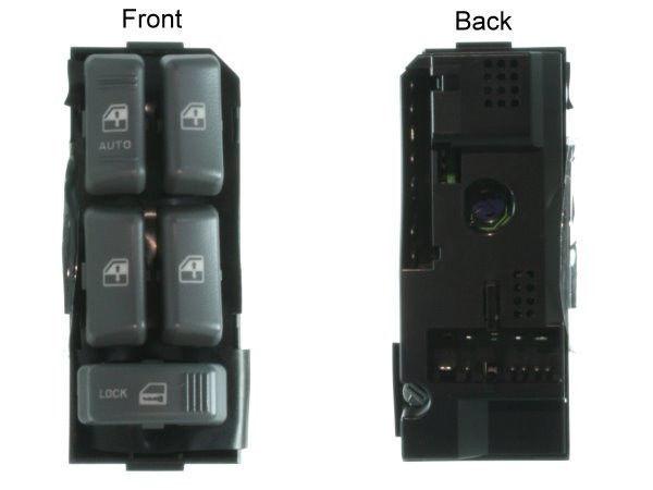 Botao Interruptor Vidro Eletrico Quadruplo Blazer e S10 15151360